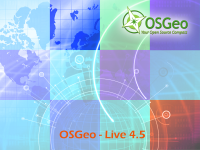 OSGeo Live DVD 4.5 Cover Artwork