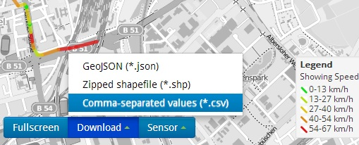 envirocar-shp-csv-download-menu